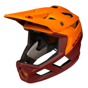 aendus-bike-gallery.ch, Endura, Full Face, Helm, orange,