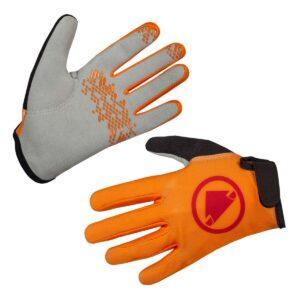 aendus-bike-gallery.ch, Endura, Kinder, Hummvee, Handschuh, orange,