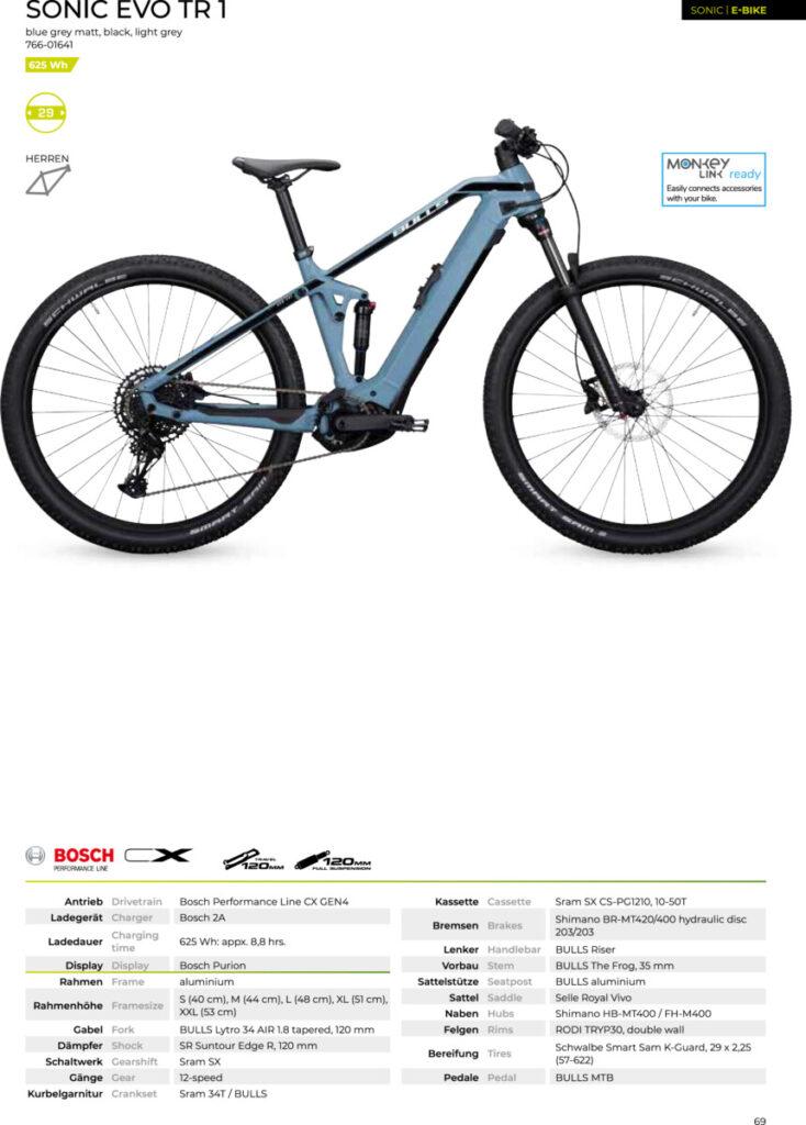aendus-bike-gallery.ch BULLS Sonic EVO TR 1